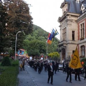 La Royale Fanfare La Fraternite conduit le cortege