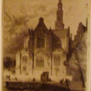 Westkerke, où repose Rembrandt