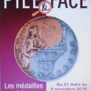 Exposition temporaire 2016       --          Pile & face.      --       Les médailles spadoises