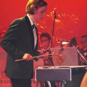 """Gaelle Lodomez dans le solo au vibraphone de """"A tribute to Lionel"""""""