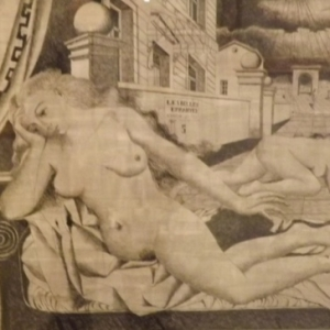 """"""" Les belles Errantes a Ephese """"  ( Paul DELVAUX )"""