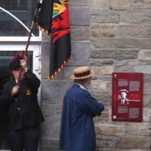 Inauguration de la plaque de Henri Bragard