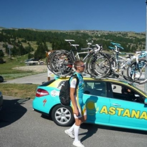 Andryi GRIVKO, equipier de Contador