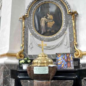 Les fonts de la cathédrale de Malmedy