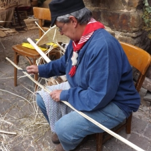 Vieux Metiers 2013 : Le vannier