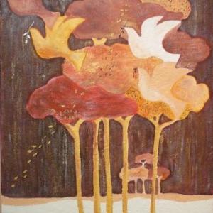 Marie-France GRAF ( Sculpture - peinture ) 087. 27 05 96