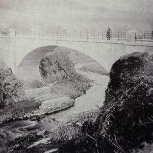 Le pont de Champagne – Outrewarche est termine ( 26 m de traversee )