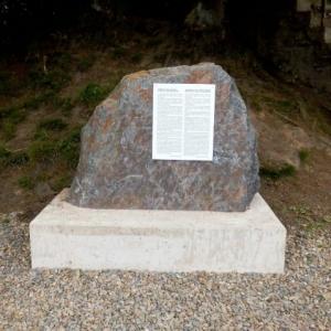 La stele commemorative