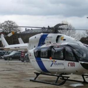 L'helicoptere medicalise de Bra - sur - Lienne