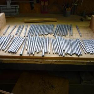 La manufacture d'orgues : l ' atelier de tuyauterie