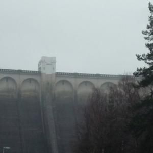 Le barrage d'Eupen