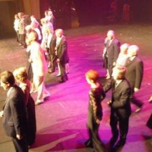 Gala de danse 2009 au Casino de Spa.    La prestations des Aines ( Photos : O. Delvigne )