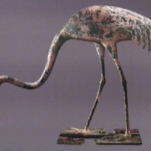 Fosse des oiseaux de bronze