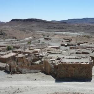Habitations de mineurs ( mines de cobalt )