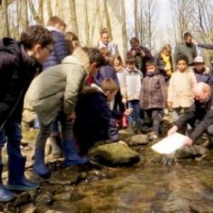 La mise a l'eau ( Photo Vedia )