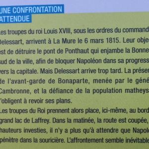 Une confrontation attendue entre le Roi Louis XVIII et Napoléon