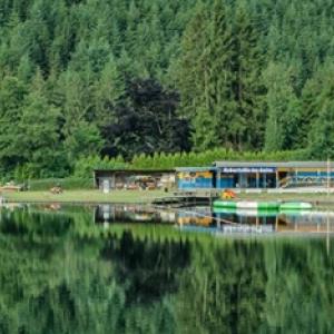Le site des bains de Robertville ( Photo : S.I. Waimes )
