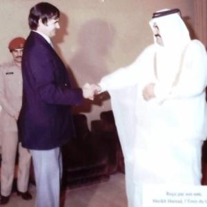 Reception au Qatar