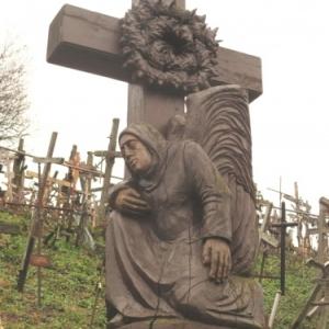 La Colline des Croix a Siauliai ( Lituanie )