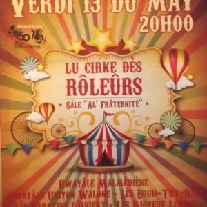 Vendredi 13 mai  150eme anniversaire Soiree des Roleurs  20 h