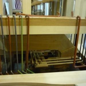 La manufacture d'orgues : les elements pour l ' arrivee d ' air