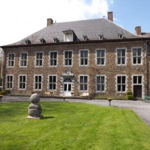 L'Abbaye du Val Dieu : cote parc