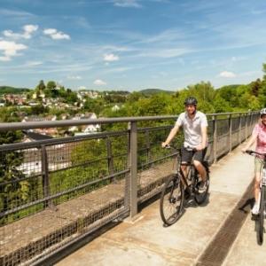 Randonnee cycliste ( Photo Eifel Tourismus )