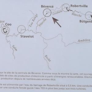 Les differents barrages regionaux