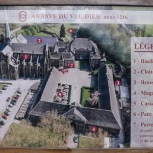 L'abbaye du Val - Dieu  ( plan general )