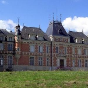 Le chateau de Clermont ( face )