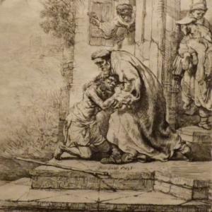 Le retour du fils prodigue ( 1636 )