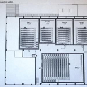 Structure interne du complexe ( 5 salles )