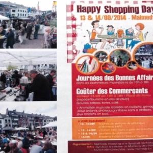 Happy Shopping et Gouter des commercants