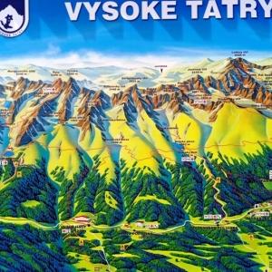 Situation de Nový Smokovec ( photo : F. Detry )