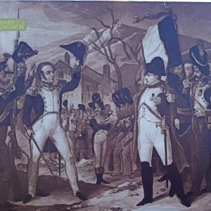 Rencontre entre le Roi Louis XVIII et Napoléon