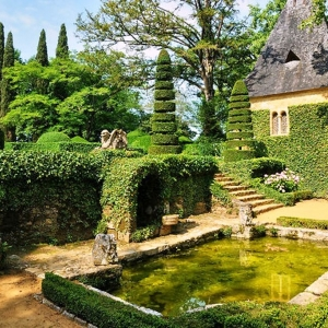 7. Les jardins du manoir d'Eyrignac, splendides !
