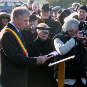 Le discours du Gouverneur de la Province, M. Foret