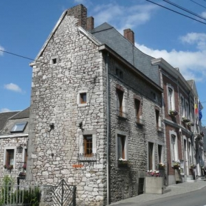 Cette meme maison voisine de la Maison communale construite en 1747