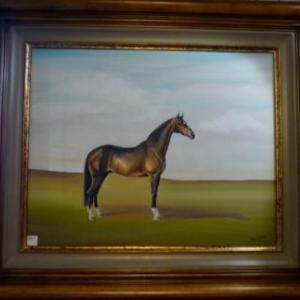 SOLWASTER  Peintures sur themes equestres ( Isabelle Ghem )