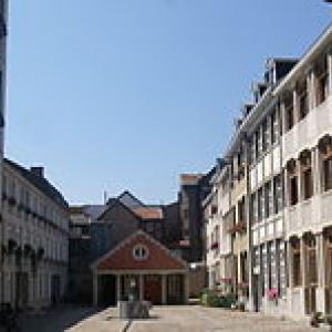 La cour Saint-Antoine à Liege