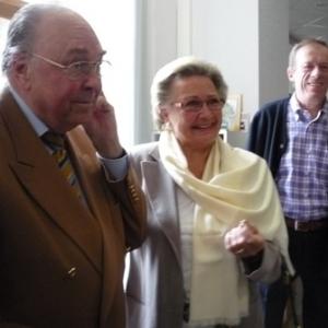 M. et Mme Joe Blesgen, les hotes du Tros Marets