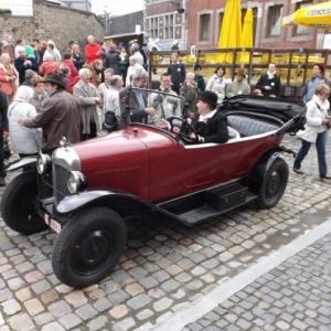 La voiture de M. Bourgeois, industriel
