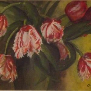 Mme Odette FABRY expose ses aquarelles au Gretedar
