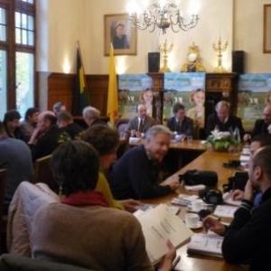 Conference de prresse a l'hotel de ville de Malmedy