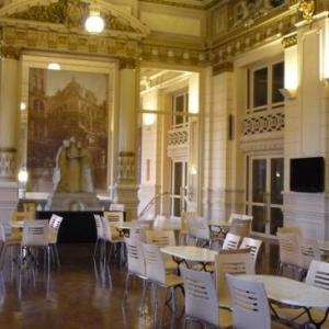 Le foyer du Conservatoire royal