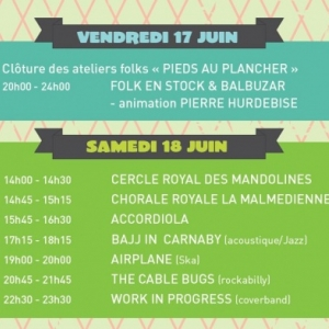 17 et 18 juin  Programme FAITES de la MUSIQUE