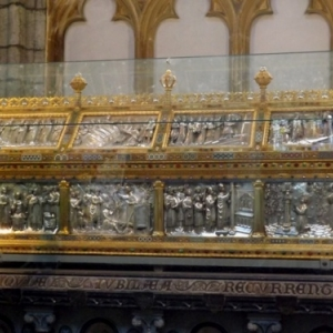 Liege : Cathedrale St Lambert ( la chasse de St Lambert )
