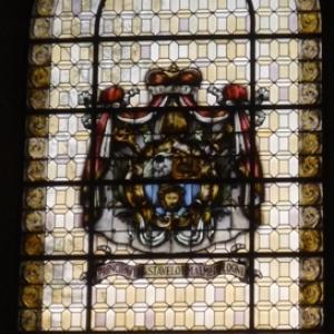 Le vitrail de la Principaute Stavelot - Malmedy