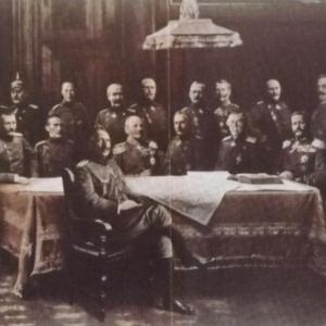 Hommes d' Etat et generaux allemands ayant pris part a la guerre