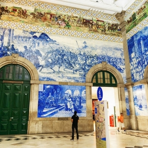 8) Gare de Porto-São Bento (Porto, Portugal)